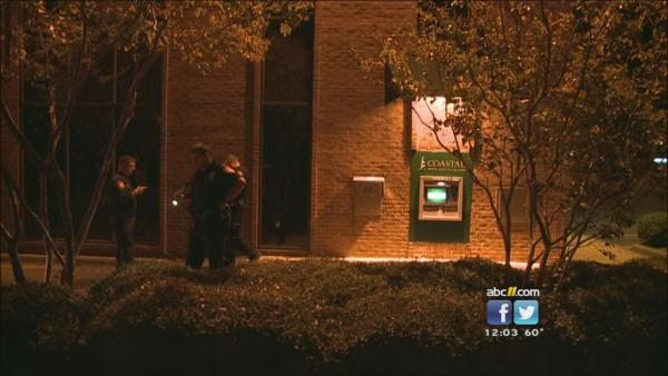 Woman shot at Durham ATM