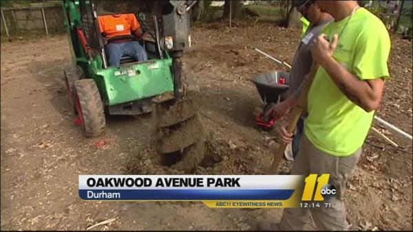Durham, ABC11, and KaBOOM! building playground Saturday