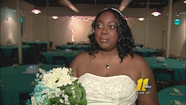 Raleigh couple marries on 11-12-13
