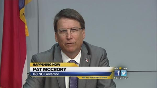 Gov. Pat McCrory proposes help for vets
