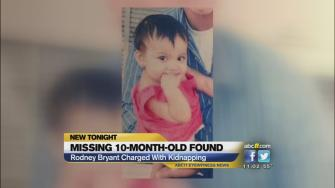 A statewide Amber Alert for a 10-month-old is over, and now her father faces a first-degree kidnapping charge.