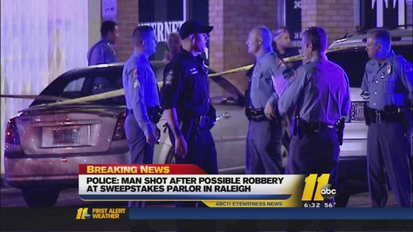 Man injured in Raleigh shooting