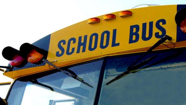School bus involved in Sanford crash