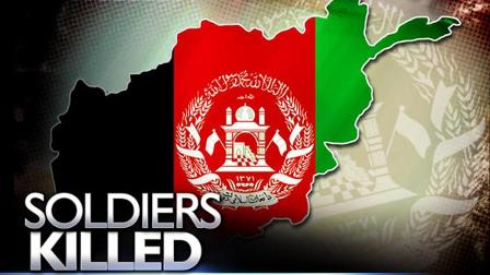 Soldiers killed in Afghanistan graphic