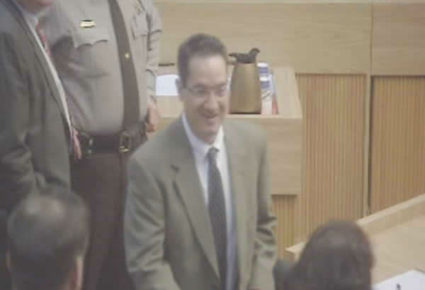 John Violette at a court hearing. <span class=meta>(WTVD Photo)</span>