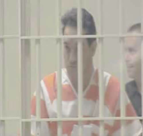 "<div class=""meta image-caption""><div class=""origin-logo origin-image ""><span></span></div><span class=""caption-text"">John Violette being transferred in prison garb. (WTVD Photo)</span></div>"