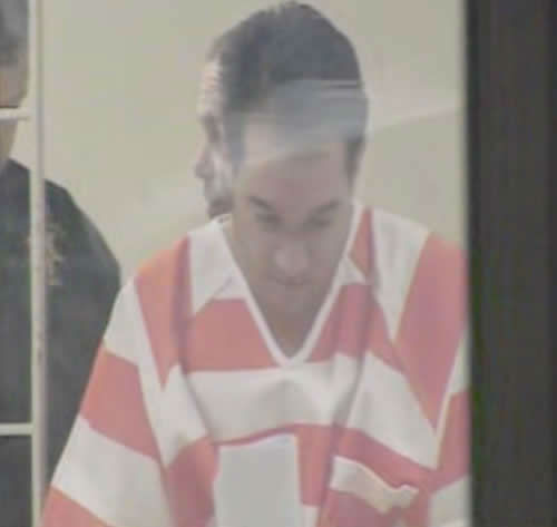 "<div class=""meta ""><span class=""caption-text "">John Violette being transferred in prison garb. (WTVD Photo)</span></div>"