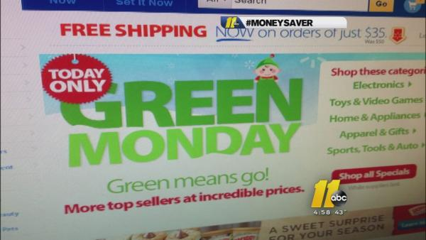 Money Saver: Green Monday