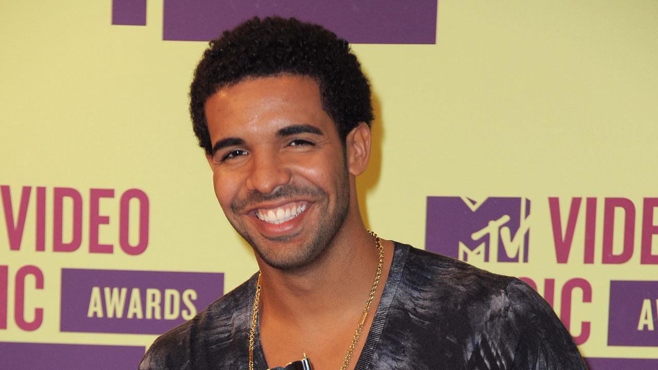Drake backstage at the MTV Video Music Awards on Thursday, Sept. 6, 2012, in Los Angeles.