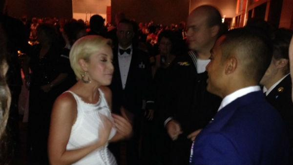The gala honored six servicemen and NC native Kellie Pickler who supports the country's military heroes.