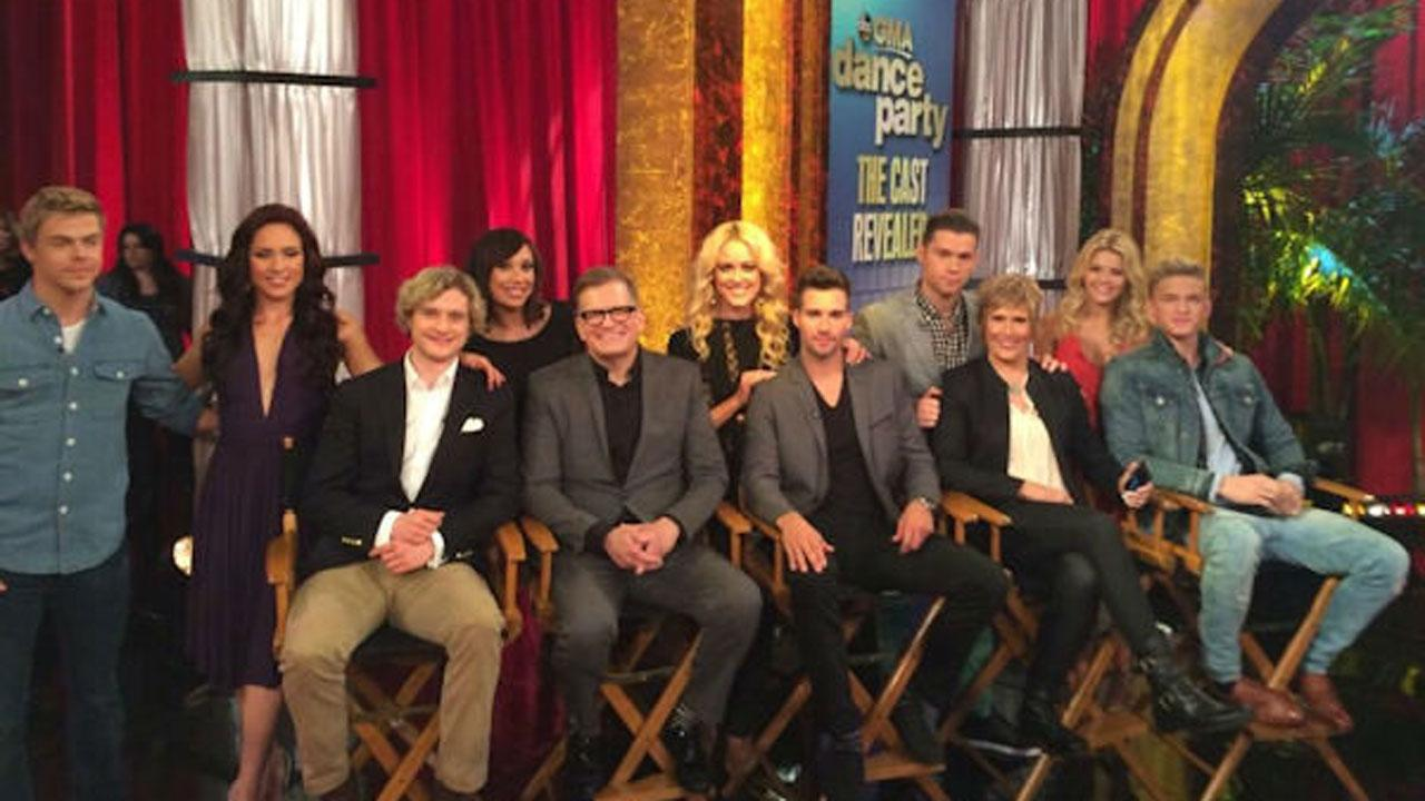 Dancing with the Stars Season 18 cast revealed