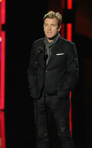 Ewan McGregor during the People's Choice Awards on Wednesday, Jan. 11, 2012 in Los Angeles.