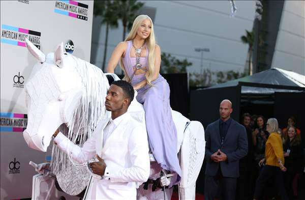 "<div class=""meta image-caption""><div class=""origin-logo origin-image ""><span></span></div><span class=""caption-text"">Lady Gaga seen at the 2013 American Music Awards, on Sunday, Nov. 24, 2013 in Los Angeles. (Photo by Matt Sayles/Invision/AP)</span></div>"