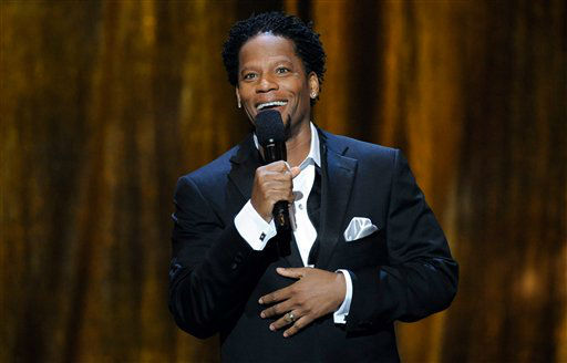 "<div class=""meta image-caption""><div class=""origin-logo origin-image ""><span></span></div><span class=""caption-text"">Comedian D.L. Hughley  (AP Photo/ Kevork Djansezian)</span></div>"