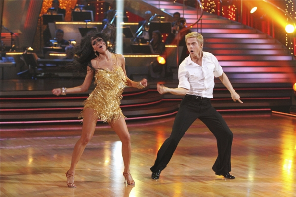 "<div class=""meta ""><span class=""caption-text "">In this image provided by ABC Nicole Scherzinger and her partner Derek Hough perform the Argentine Tango Tuesday May 25, 2010. For the first time ever, all three couples chose the same dance, the Argentine Tango. Nicole Scherzinger and partner Derek Hough dominated throughout the 10th season of the hit ABC show and bested Olympic gold medalist Evan Lysacek to win the ""Dancing"" crown Tuesday night.  (AP/ABC/Adam Larkey)</span></div>"