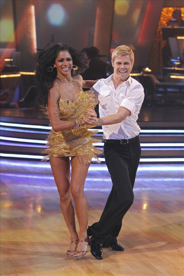 In this image provided by ABC Nicole Scherzinger and her partner Derek Hough perform the Argentine Tango Tuesday May 25, 2010. For the first time ever, all three couples chose the same dance, the Argentine Tango. Nicole Scherzinger and partner Derek Hough dominated throughout the 10th season of the hit ABC show and bested Olympic gold medalist Evan Lysacek to win the &#34;Dancing&#34; crown Tuesday night. <span class=meta>(AP&#47;ABC&#47;Adam Larkey)</span>