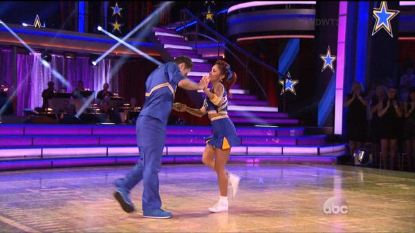 "<div class=""meta image-caption""><div class=""origin-logo origin-image ""><span></span></div><span class=""caption-text"">The cast of the 17th season of ""Dancing with the Stars"" is competing for your votes. Monday was the fourth week of the competition. </span></div>"