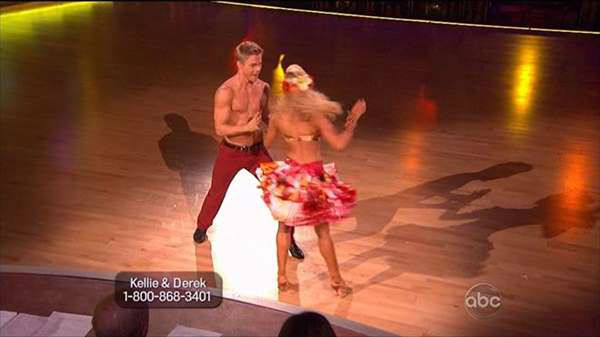 "<div class=""meta image-caption""><div class=""origin-logo origin-image ""><span></span></div><span class=""caption-text"">Who put in the best performance on Monday's episode of Dancing With The Stars during Latin week? (ABC Photo)</span></div>"
