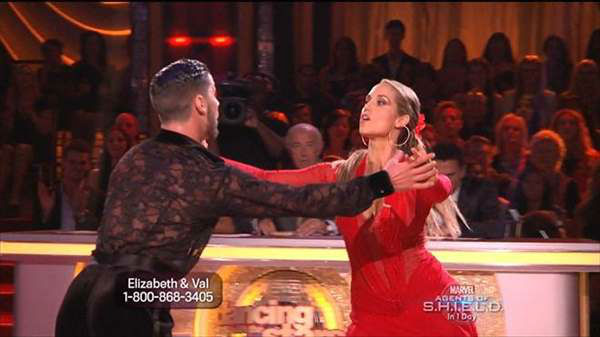 The cast of the 17th season of &#34;Dancing with the Stars&#34; is competing for your votes. Monday night featured all Latin routines. <span class=meta>(ABC Photo)</span>