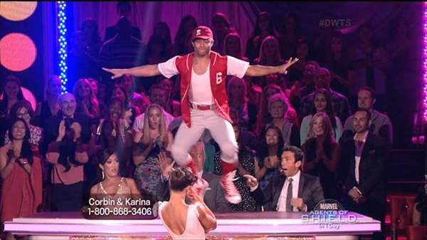 "<div class=""meta image-caption""><div class=""origin-logo origin-image ""><span></span></div><span class=""caption-text"">The cast of the 17th season of ""Dancing with the Stars"" is competing for your votes. Monday night featured all Latin routines. (ABC Photo)</span></div>"