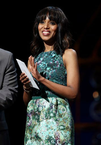 "<div class=""meta ""><span class=""caption-text "">Actress Kerry Washington attends rehearsals for the 85th Academy Awards in Los Angeles, Saturday, Feb. 23, 2013. (AP Photo/Matt Sayles)</span></div>"
