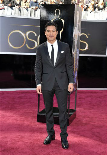 "<div class=""meta image-caption""><div class=""origin-logo origin-image ""><span></span></div><span class=""caption-text"">TV personality Mario Lopez arrives at the 85th Academy Awards at the Dolby Theatre on Sunday Feb. 24, 2013, in Los Angeles.  (AP Photo/ John Shearer)</span></div>"