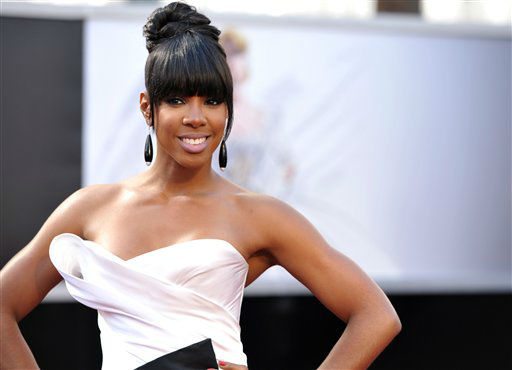 "<div class=""meta ""><span class=""caption-text "">Singer Kelly Rowland arrives at the 85th Academy Awards at the Dolby Theatre on Sunday Feb. 24, 2013, in Los Angeles.  (AP Photo/ John Shearer)</span></div>"