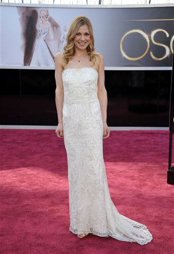 Screenwriter Lucy Alibar arrives at the 85th Academy Awards at the Dolby Theatre on Sunday Feb. 24, 2013, in Los Angeles.  <span class=meta>(AP Photo&#47; John Shearer)</span>