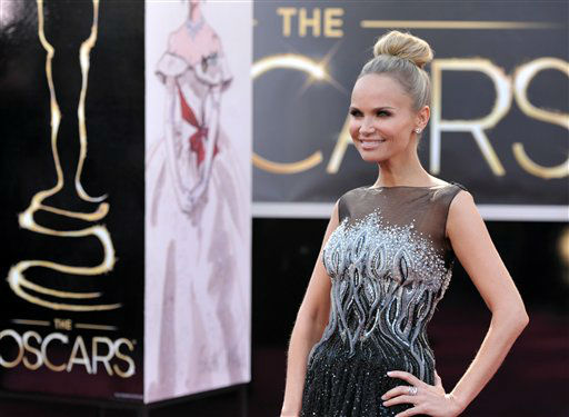 Actress Kristin Chenoweth arrives at the 85th Academy Awards at the Dolby Theatre on Sunday Feb. 24, 2013, in Los Angeles.  <span class=meta>(AP Photo&#47; John Shearer)</span>