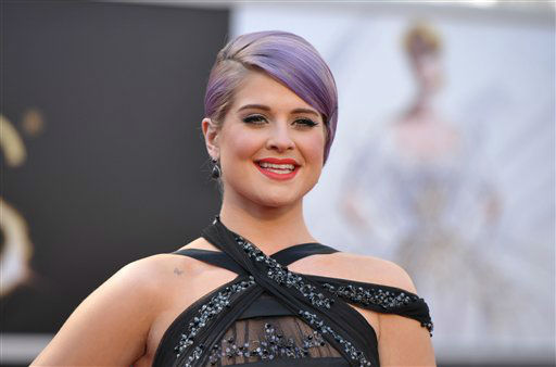 "<div class=""meta ""><span class=""caption-text "">TV personality Kelly Osbourne arrives at the 85th Academy Awards at the Dolby Theatre on Sunday Feb. 24, 2013, in Los Angeles. (AP Photo/ John Shearer)</span></div>"