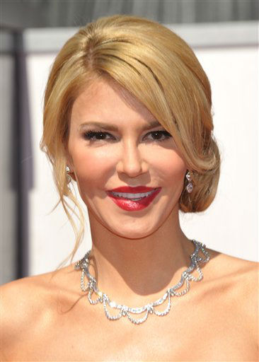 TV personality Brandi Glanville arrives at the 85th Academy Awards at the Dolby Theatre on Sunday Feb. 24, 2013, in Los Angeles. <span class=meta>(AP Photo&#47; John Shearer)</span>