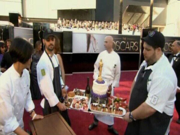 Oscar food on the red carpet. <span class=meta>(ABC News Photo)</span>