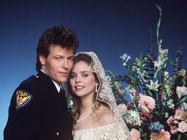 "<div class=""meta ""><span class=""caption-text "">1980s: Frisco and Felicia Get Married - Frisco falls in love with an Aztec princess, Felicia Cummings, and wed.  (ABC Photo/ ERIK HEIN)</span></div>"