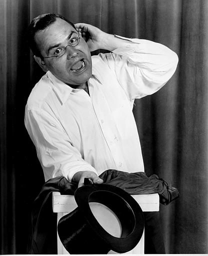 Comedian Jonathan Winters is shown in Hollywood, Ca., Aug. 12, 1955.   <span class=meta>(AP Photo)</span>