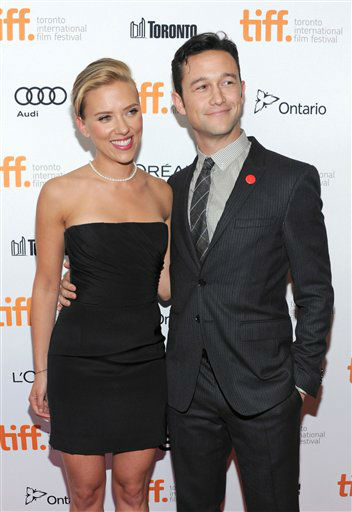 "<div class=""meta ""><span class=""caption-text "">Scarlett Johansson, left, and Joseph Gordon-Levitt arrive at the premiere of ""Don Jon"" on day 6 of the Toronto International Film Festival at The Princess of Wales on Tuesday, Sept. 10, 2013, in Toronto.  (AP Photo/ Evan Angostini)</span></div>"