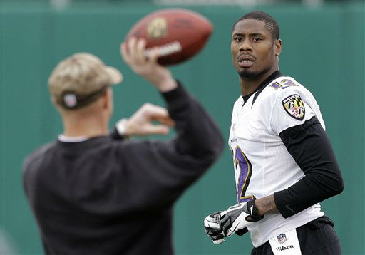 Baltimore Ravens wide receiver Jacoby Jones  <span class=meta>(AP Photo&#47; Patrick Semansky)</span>