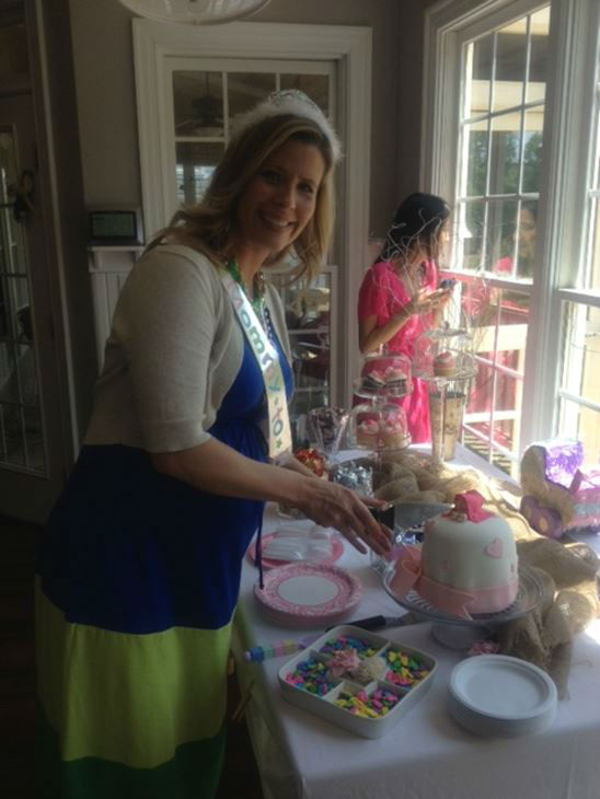 "<div class=""meta ""><span class=""caption-text "">There will soon be an addition to the ABC11 family, and the Eyewitness News ladies held a baby shower for Caitlin Knute (WTVD Photo/ Lori Denberg)</span></div>"
