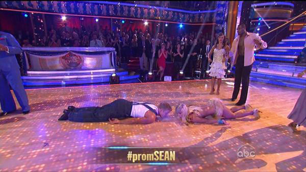 "<div class=""meta image-caption""><div class=""origin-logo origin-image ""><span></span></div><span class=""caption-text"">It was prom night on Monday's episode of Dancing With The Stars (ABC Photo)</span></div>"