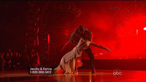It was prom night on Monday's episode of Dancing With The Stars