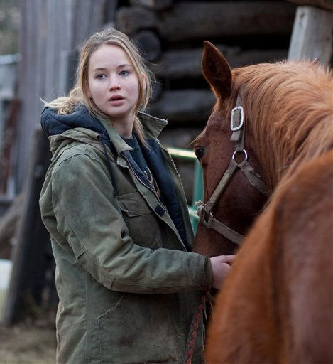 "<div class=""meta ""><span class=""caption-text "">In this film publicity image released by Lionsgate, Jennifer Lawrence is shown in a scene from ""Winter's Bone."" The movie has been nominated for a best picture Academy Award.  (AP Photo/ Lionsgate)</span></div>"