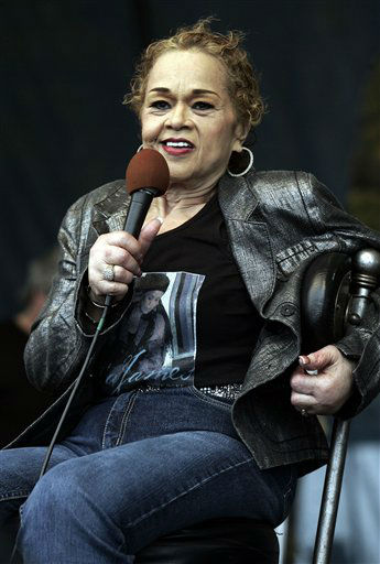 Etta James performs during the 2006 New Orleans Jazz and Heritage Festival in New Orleans on Saturday, April 29, 2006.  <span class=meta>(AP Photo&#47; JEFF CHRISTENSEN)</span>
