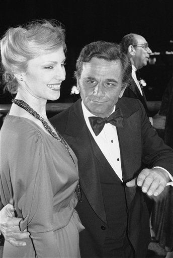 Actor Peter Falk escorts his wife, Shera, at  the premiere of the movie &#34;California Suite&#34; in Los Angeles on Tuesday, Dec. 13, 1978.  <span class=meta>(AP Photo&#47; Lennox McLendon)</span>