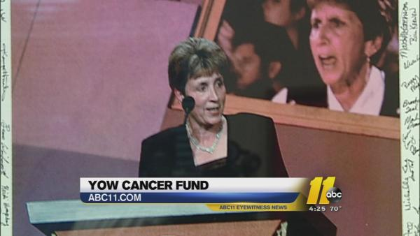 Yow Cancer Fund touching lives across U.S.