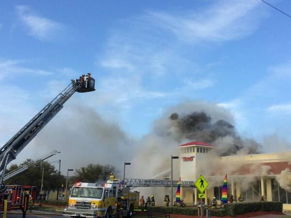 "<div class=""meta image-caption""><div class=""origin-logo origin-image ""><span></span></div><span class=""caption-text"">Photo courtesy @Jonathan_Rhudy - A Wings souvenir and beach store in Duck on the Outer Banks was heavily damaged in a fire Wednesday morning.  The Outer Banks Voice reported wind hampered firefighters' efforts to battle the blaze.  (WTVD Photo)</span></div>"