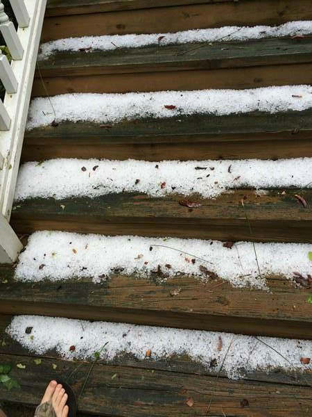 "<div class=""meta image-caption""><div class=""origin-logo origin-image ""><span></span></div><span class=""caption-text"">Weather photos from around central North Carolina Friday. (WTVD Photo/ ABC11 viewer submitted image)</span></div>"