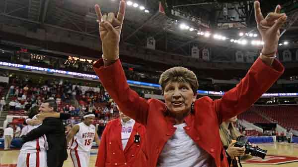 Women's basketball honors late Kay Yow