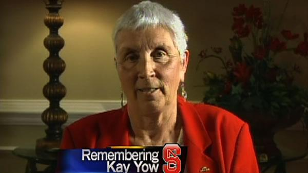 Kay Yow speaks about faith