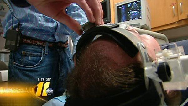 Brain helmet could help potential stroke victims