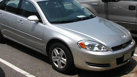 A 2006 Chevy Impala (image source: Wikimedia)