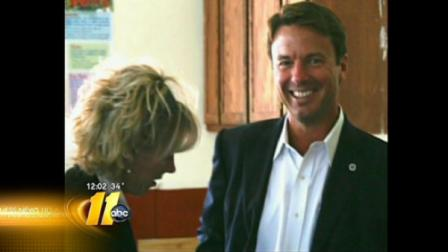 Rielle Hunter and John Edwards